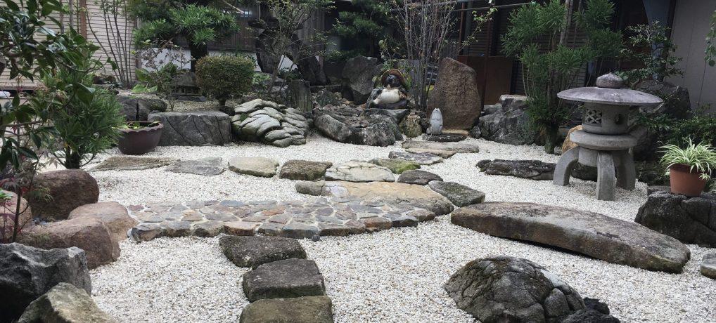 庭園・石工事