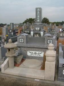上野家生前墓④071216